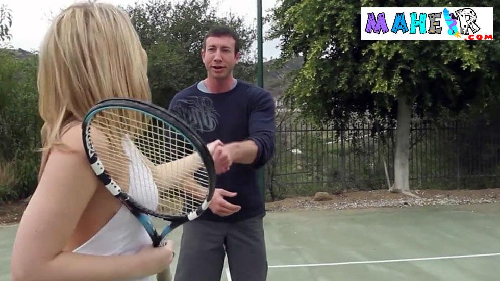 Tenis oynarken tanıştığı uzun boylu erkekle yattı