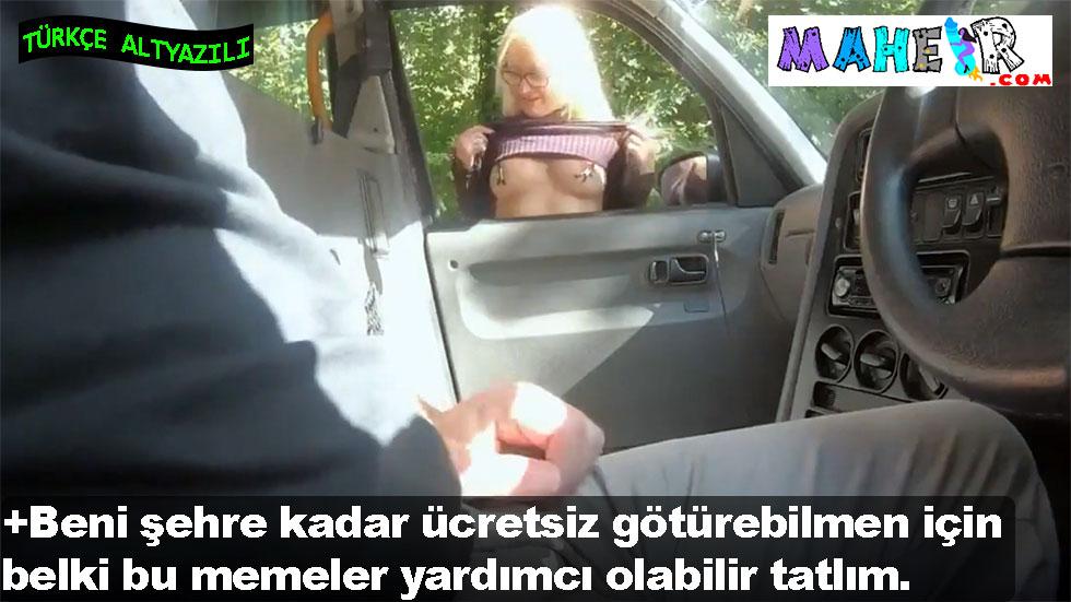 Taksiciye para ödememek için arkadan sert yiyor