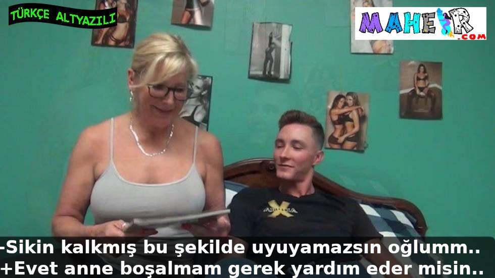 Seks masalı okuyan mature annem kalkan sikimi ağzına aldı