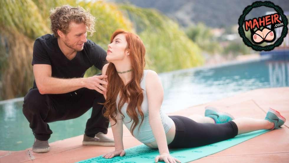 Komşumun karısı yoga eğitmeni olunca ondan ders almak istedim