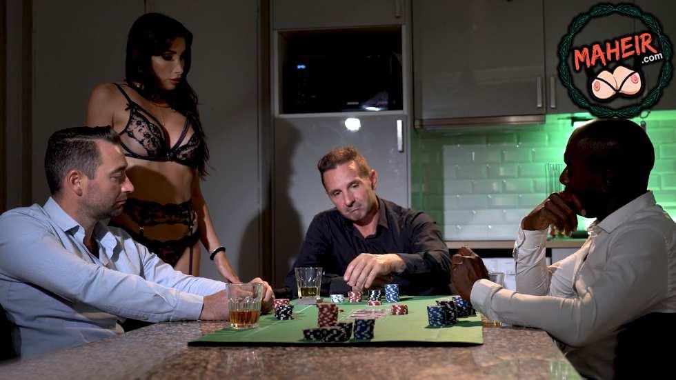 Pokerde karısını kaybetti arkadaşları eşini sikerken izledi