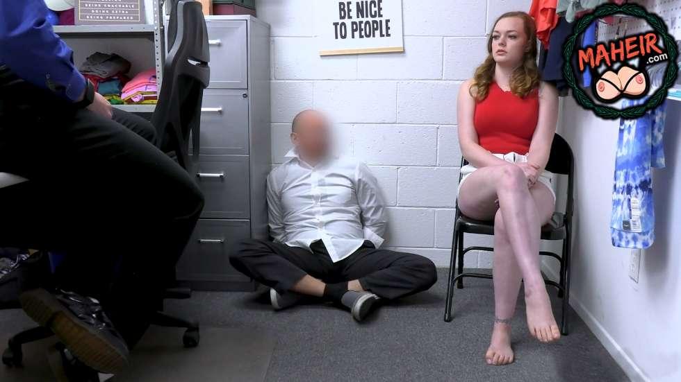 Babasının yaptığı hırsızlığın bedelini kızı sikişerek ödedi