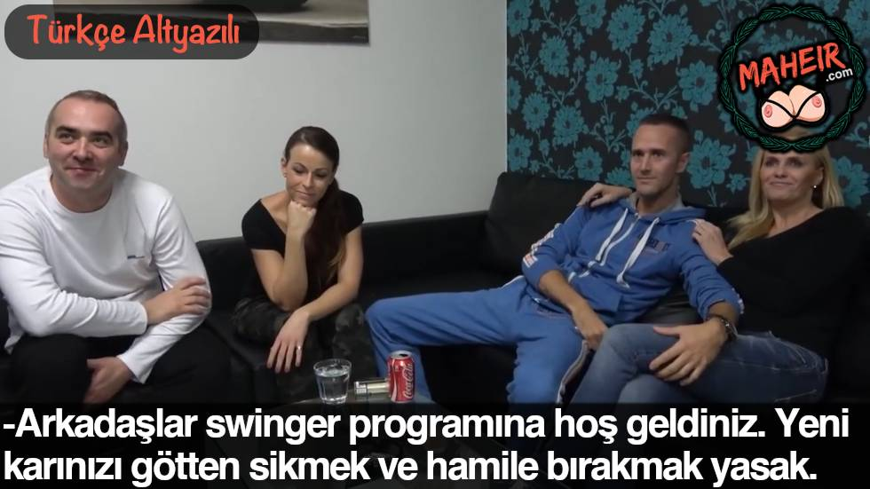 Yeni Czech Swinger Yarışmasında 8 Yıllık Karısını Siktirdi Bölüm 1